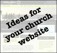 Ideas for your church website