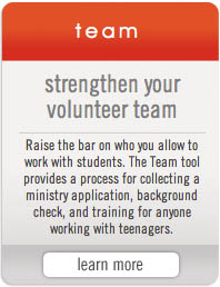 Simply Youth Ministry Tools - Team