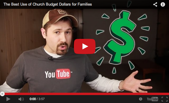 The best way to serve families with your church's budget