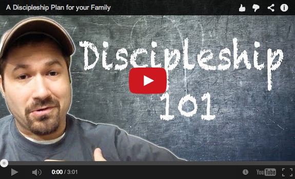A discipleship plan for your family